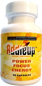 Addieup 20 Count Bottles - 6 Pack Discount (120 Pills)