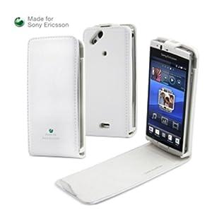 Muvit SESLI0002 Etui pour Sony Ericsson Arc/Arc S Glossy blanc