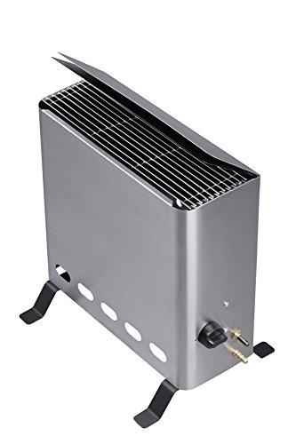 Gewächshausheizer mit Thermostat Gasheizgerät, 4,2 kW, Silber