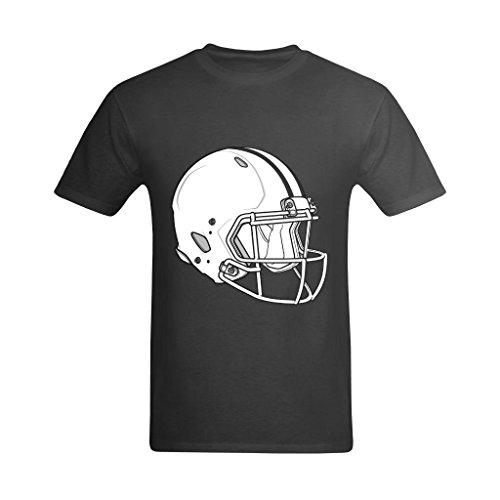 Huazain Men's Graphic Triumph Helmet Shirt 9