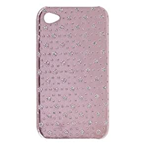 Hard Back Plastic Flower Style Case for iPhone 4 4G