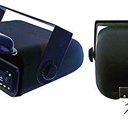 See Universal Marine Stereo Housing with Full Wired Casing in Black Details