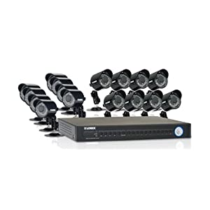 Lorex ECO 16-Channel Security DVR with 16 Security Cameras