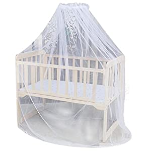 DDLBiz Baby Bed Mosquito Mesh Net Toddler Crib Cot Canopy