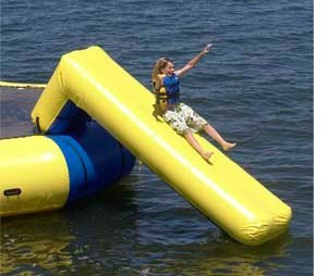 Rave Sports 02004 Aqua Slide 11' Water Trampoline Attachment w/ Warranty at Amazon.com