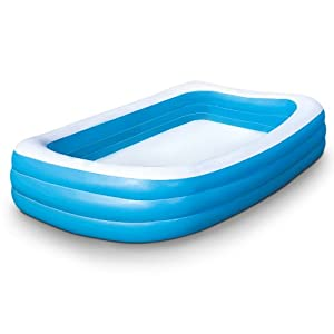 Piscina gonfiabile molto spaziosa per adulti e bambini bestway 305 x 183 x 56 cm colore blu - Piscine x bambini ...