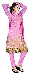 Krishna Fashion Women's Cotton Unstitched Dress Material (nilo 1302_Multicolor_Free Size)