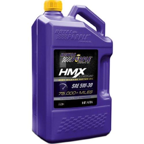 Royal Purple 11748 HMX SAE 5W-30 High-Mileage Synthetic Motor Oil - 5 Quart