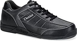 Dexter Youth Ricky III Junior Bowling Shoes, Size 2, Black/Alloy