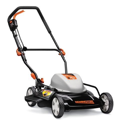 Remington Rm202A 19-Inch 12 Amp Corded Electric Side Discharge/Mulching Lawn Mower With Single Level Height Adjust