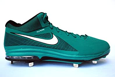 Nike Air Max MVP Elite 3 4 Metal Baseball Cleat Mens Size 13.5 Green & Dark Green... by Nike