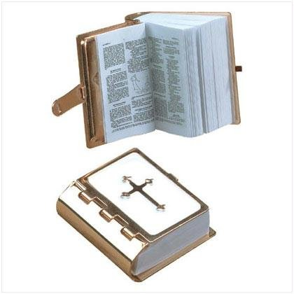 MINI GOLD BIBLE FOR AMERICAN GIRL DOLLS