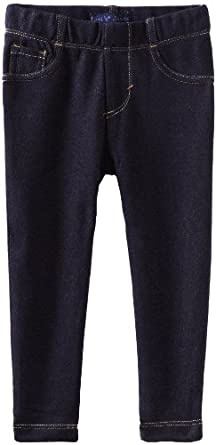 Levi's Little Girls' Knit Legging, Indigo Blue, 2T