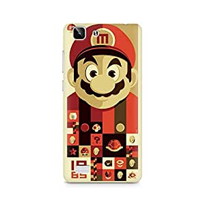 Ebby Mario Premium Printed Case For Vivo X5