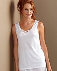 Cuddl Duds Medallion Lace Camisole -…