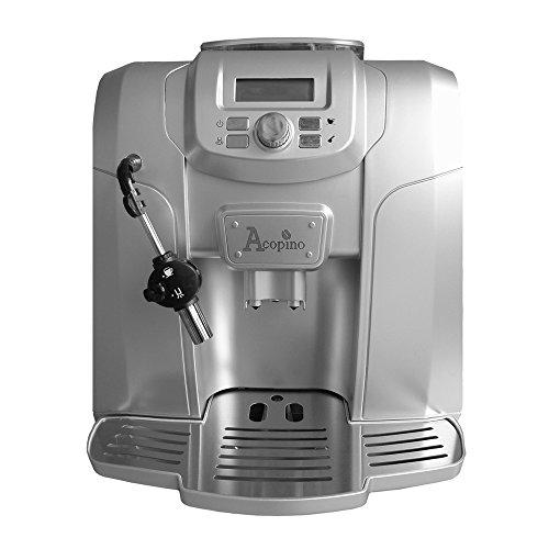 Acopino Ravenna Kaffeevollautomat und Espressomaschine, silber thumbnail