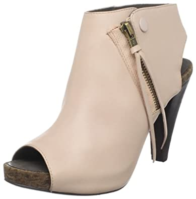 Joie Women's She'S Electric Open-Toe Bootie,Nude,36.5 EU/6.5 M US