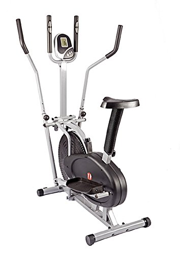 NEW 2 in 1 Elliptical Cross Trainer and Exercise Bike With Seat...