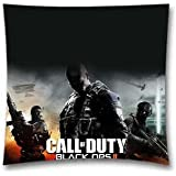 Thanksgiving Day Gift Call Of Duty Three Throw Pillowcases for Bed, Couch and Office 18x18 Inch (45x45 Cm)