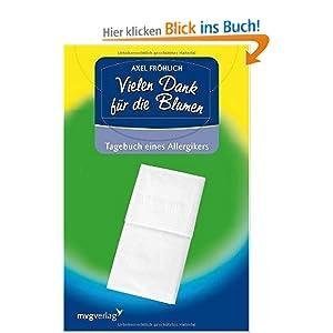 eBook Cover für  Vielen Dank f xFC r die Blumen Tagebuch eines Allergikers