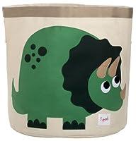 3 Sprouts Storage Bin, Dinosaur