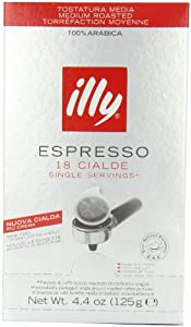 Order Illy Espresso roasting N, 18 Cialde / Servings, 125 g from illycaffè S.p.A.