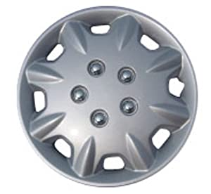 "Drive Accessories KT-854-14S/L, Honda Accord, 14"" Silver Replica Wheel Cover, (Set of 4)"