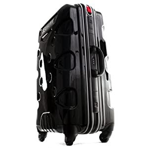 "Seahawk II luggage - wheeled trolley case 26"" (medium) black from Mendoza"