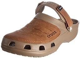 crocs Yukon Clog,Khaki/Brown,10 M