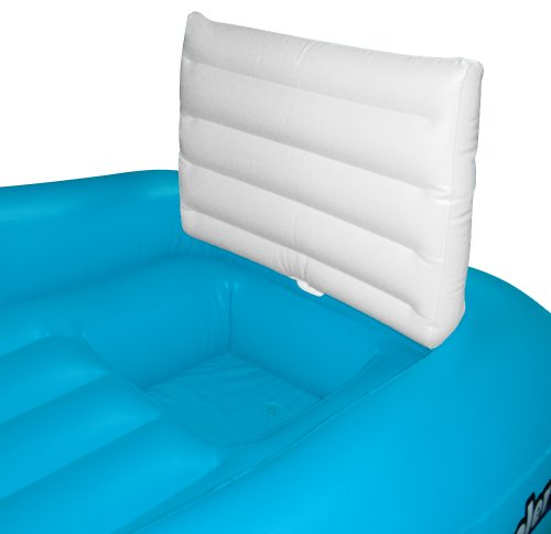 Solstice cooler couch inflatable pool lounger home garden for Coole couch