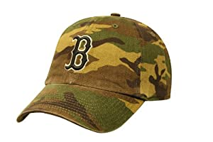 Boston Red Sox Camoflauge Franchise Hat by
