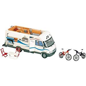 majorette mini veicolo holiday camper giochi e giocattoli. Black Bedroom Furniture Sets. Home Design Ideas