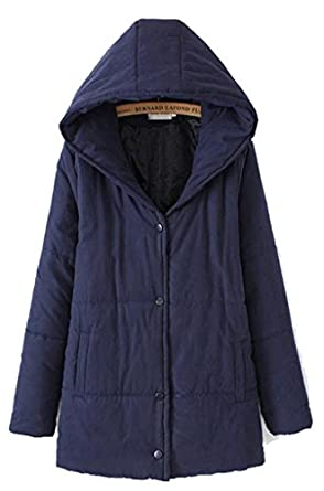 Womens Padded Coat With Hood