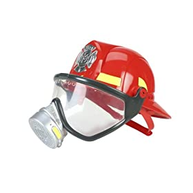 Mattel Matchbox Fire Commander Adventures Real Sounds Fire Helmet