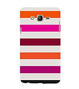 Girly Lovely Lines 3D Hard Polycarbonate Designer Back Case Cover for Samsung Galaxy On5 :: Samsung Galaxy On 5 G550FY