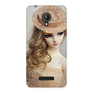 Unicovers Royal Doll Back Case Cover for Micromax Canvas Spark Q380