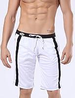 iCreat Maillot de bain Boxer Trunks Shorts Pantalon Court de Sport Short de bain pour Homme Sexy Plage Mer Loisir