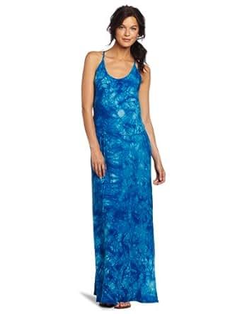 C&C California Women's Thin Strapped Printed Maxi Dress, Dream Catcher Multi, X-Small