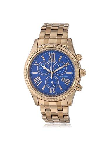 Citizen Women's FB1363-56L Rose Gold/Blue Stainless Steel Watch
