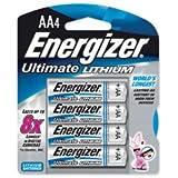 Energizer L92BP-4 4 Pk AAA Ultimate Lithium Battery