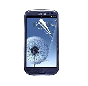 Generic Clear Screen Protector for Samsung Galaxy S3 S III AT&T, T-Mobile, Sprint, Verizon/i9300 - 3 Pack
