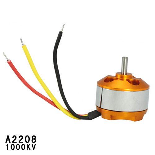 Gangnam Shop A2208 1000KV 3.17mm Shaft Diameter Brushless Outrunner Motor for RC Aircraft