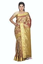 Srinidhi Silks Orange Silk Sari (Ssi sarr 2258)