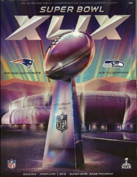 NFL Super Bowl 49 XLIX Program