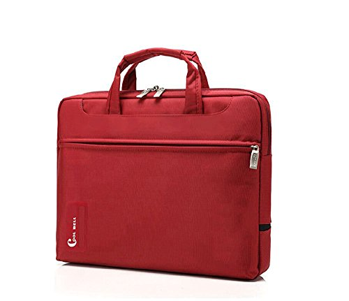 Bronze Times 13 Inch Laptop/ Notebook Computer/ Tablet Sleeve Brifecase Bag (Red)