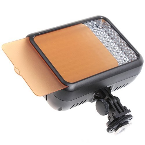 Yongnuo Yn1410 Yn-1410 Led Studio Video Light Lamp With 5500K Color Temperatur E And Adjustable Brightness For The Slr Cameras Camcorders, Like Canon Nikon Pentax Olympas Samsung Panasonic Jvc Etc.