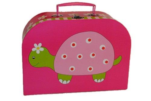 Kinderkoffer in 3 Größen ! Schildkröte rosa