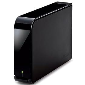 BUFFALO USB2.0�p �O�t��HDD 1TB HD-LS1.0TU2D