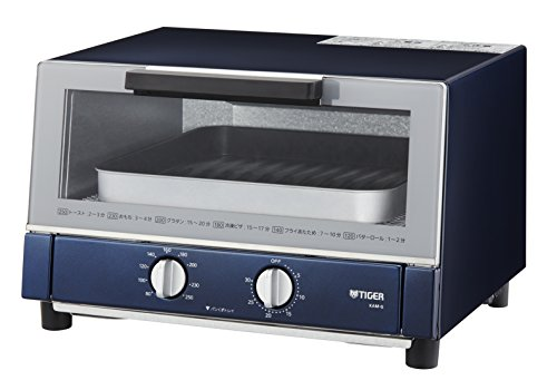 タイガー やきたて オーブントースター ネイビー KAM-G130-AN