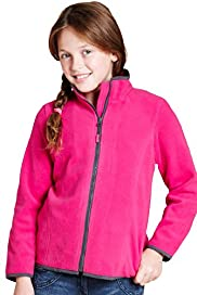 Funnel Neck Zip Through Fleece Ski Jacket